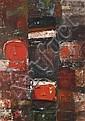 Fateh Moudarres (1922-1999)  Sans titre, 1964 Huile sur toile Signée, datée 64 et signée en arabe en bas à droite 70 x 50 cm - 27 1/...