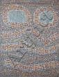 Seund Ja Rhee (1918-2009)  La louve, 1963 Huile sur toile Signée et datée 63 en bas à droite Titrée et contresignée au dos 130 x 97 ...
