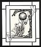 Pascal Chauveau (né en 1962)  Illusions perdues, 1992 Encre sur papier Titrée, datée et signée en haut à gauche 32 x 24 cm - 12 1/2 ...