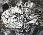 Pierre Dmitrienko (1925-1974)  Sans titre, 1958 Gouache sur papier Signée et datée en bas au centre 46 x 55 cm - 18 x 21 5/8 in