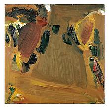 Olivier Debré (1920-1999) Cuivre d'automne, 1963-1964 Oil on canvas Signed with initials and dated 63 lower right Signed, titled and...