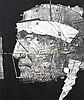 Gérard Le Cloarec (né en 1945) L'indien, 2002 Technique mixte sur toile Signé et daté 02 en bas à droite Titré, dédicacé et contresigné au dos 55 x 46 cm