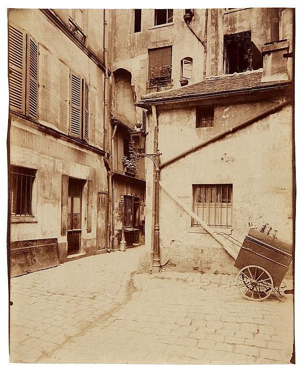 Eugène Atget (1857-1927) Passage St