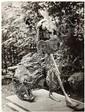 GYULA HALASZ, Dit BRASSAÏ (1899-1984) Tauromachie, Sculpture de Germaine Richier, vue de face, vers 1950 -1955 Épreuve argentique, p...