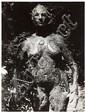 GYULA HALASZ, Dit BRASSAÏ (1899-1984) Femme debout, l'ouragane, sculpture de Germaine Richier, vers 1948-1949 Épreuve argentique, po...