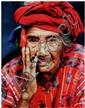 Denis Félix (né en 1960) Manuella (Guatemala) Tirage sur papier cartoline contrecollé sur aluminium Édition 1/11