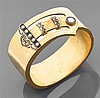 Bracelet en or jaune 14K amati