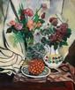 SUZANNE VALADON (1865-1938) Nature morte à l'ananas, 1922 Huile sur toile Signée et datée en bas à gauche 73 x 60 cm - 28 3/4 x 23 5...