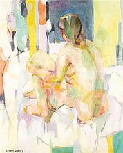 Claude Schurr (1921) Féminité Oil on canvas
