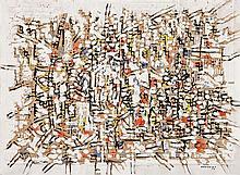 Antonio Bandeira (1922-1967) Sans titre, 1956