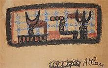 Jean-Michel Atlan (1913-1960) Sans titre, 1952