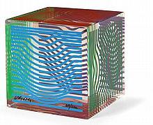 Victor Vasarely (1906-1997) Moire wave, circa 1980
