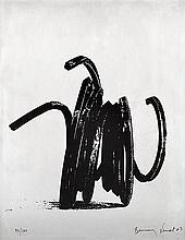 Bernar Venet (né en 1941) Ligne indéterminée, 2003
