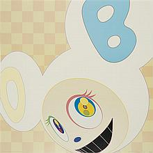 Takashi Murakami (Né en 1962) And Then Ichimatsu Pattern, 2006 Color offset lithographSigned, dated 06 et numbered 63/300 lower righ...