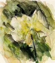 André Marchand (1877-1951) Composition florale Aquarelle sur papier Signée et datée en bas à gauche 33 x 29cm