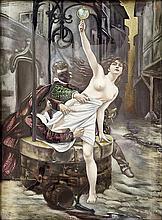 F.R. (Émailleur) & Édouard Debat-Ponsan (D'après)