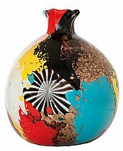 Dino Martens (1894–1970) & Aureliano Toso - MURANO A spherical multilayered and murrine