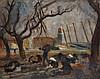 Charles Camoin (1879-1965) Bateaux sur la grève à Collioure, 1930 Huile sur toile Signée en bas à droite  Oil on canvas Signed lower...
