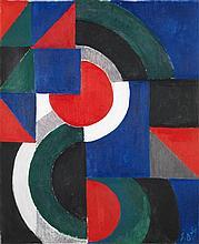 Sonia Delaunay-Terk (1885-1979) Rythme coloré, 1959 Huile sur toile Signée des initiales en bas à droite Numéroté
