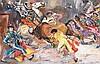 Édouard Léon Luis Edy-Legrand (1892-1970) Tauromachie Huile sur papier marouflé sur panneau Signée en bas à droite  Oil on paper glu...