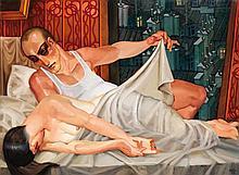 Juarez Machado (Né en 1941) Nuit d'été, 2002 Huile sur toile Signée et datée en bas à droite Contresignée au dos  oil on canvas Sign...