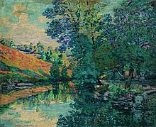ARMAND GUILLAUMIN (1841-1927)  Signée en bas à droite Oil on canvas Signed lower right - 26 x 31 7/8 in