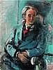 Raymond Kanelba (1897-1960) Oil on canvas - 36 1/4 x 28 1/8 in