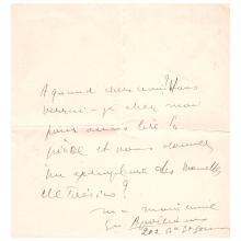 Guillaume APOLLINAIRE. 1880-1918. Écrivain poète.