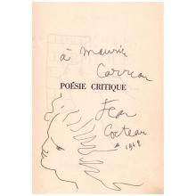 Jean COCTEAU. 1889-1963. Écrivain, artiste.