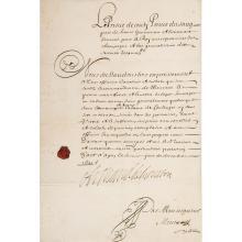 Armand de Bourbon prince de CONTI. 1629-1666. Frère cadet du Grand Condé, gouverneur de Guyenne.