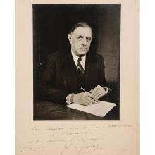 Charles de GAULLE. 1890-1970. Général, homme politique.