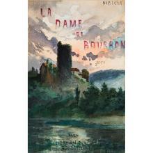 MARY-LAFON Jean-Baptiste Lafon, dit. La Dame de Bourbon. Paris, Bourdilliat, 1860; in-8 de [2] ff., 174 pp., [1] f.; demi-chagrin bl...