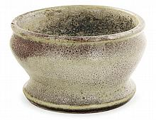 Ernest CHAPLET (1835-1909) A small enamelled stoneware crater bowl