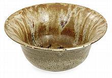 Auguste DELAHERCHE (1857-1940) A circular enamelled stoneware bowl