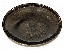 Auguste DELAHERCHE (1857-1940) A circular enamelled porcelain bowl