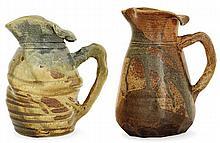 Eugène LION (1867-1945) - An enamelled stoneware vegetable jug