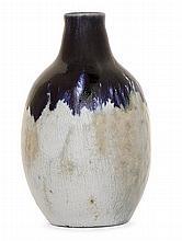 ÉTIENNE MOREAU-NÉLATON (1859-1927) - An enamelled stoneware bottle vase