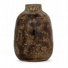 ÉTIENNE MOREAU-NÉLATON (1859-1927) - An ovoid enamelled stoneware vase