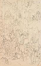 FERNAND CORMON (1845-1928) ÉTUDE DE PERSONNAGES