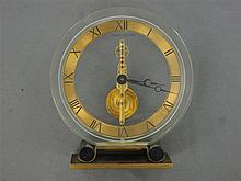 JAEGER LECOULTRE VERS 1960 A clock by Jaeger Lecoultre, circa 1960.
