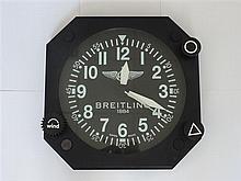 BREITLING GRANDE HORLOGE MURALE A clock by Breitling.