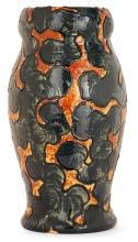 Michael ANDERSEN (MANUFACTURE) Vase ovoïde en faïence