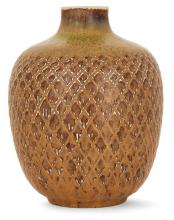 Gerd BØGELUND (1923-1987) & ROYAL COPENHAGUE (Manufacture) Vase ovoïde en grès