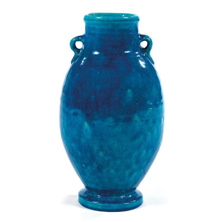 RAOUL LACHENAL (1885-1956) An earthenware vase