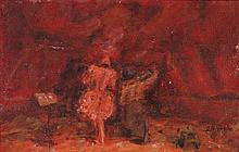 GEORGES YOLDJOGLOU (né en 1933) Clown, 1976 Huile sur toile Signée en bas à droite, dédicacée et datée au dos