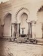 Jean-Baptiste Antoine ALARY (Villeneuve-sur-Lot 1811- après 1889) Fontaine devant l'entrée de la mosquée Djemaa el Kebir, ca 1857