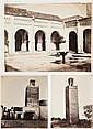 Jose Agustín dit Joseph PEDRA (Madremanya 1809 - Tlemcen 1879) Monuments arabes de Tlemcen : minaret d'Agadir, mosquée sidi bel Hass...