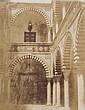 PIERRE TREMAUX (1818- 1895) Vue d'une cour à Tunis. Hôtel d'un ministre du bey, 1852. Épreuve sur papier salé, d'après un négatif pa...