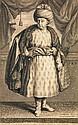 JOHN HAINZELMAN PORTRAIT EN PIED DE JEAN-BAPTISTE TAVERNIER STANDING PORTRAIT OF JEAN-BAPTISTE TAVERNIER Gravure utilisée pour le fr...