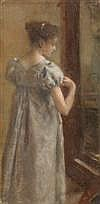 Art Work by Henri Gervex (1852 - 1929)